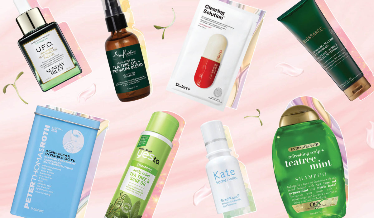 8 Tea Tree Oil Products That Fight Acne, Inflammation & An Itchy Scalp
