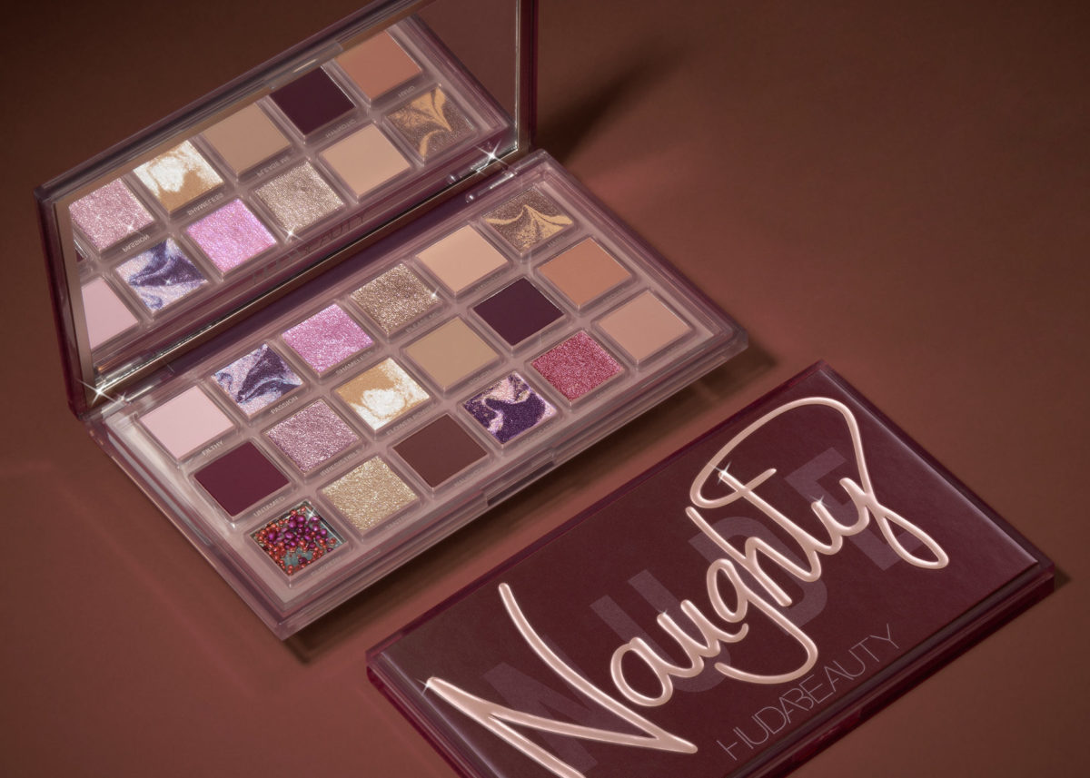 Huda Beauty Naughty Nude palette shades