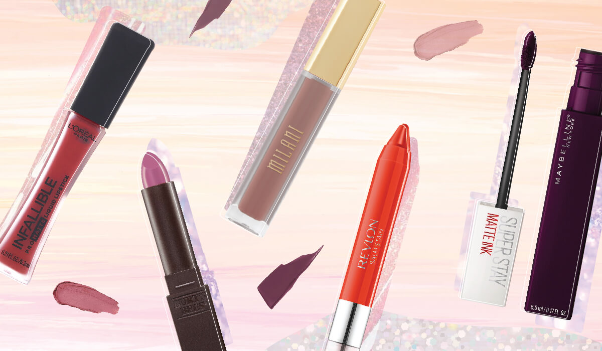 5 Amazing Drugstore Lipsticks That Stay All Day Long