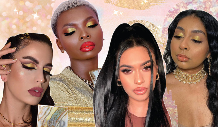 10 Gold-Dripping Makeup Looks You Need To Try