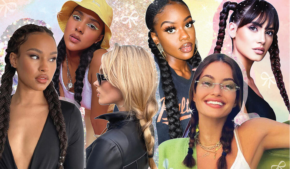21 Ways To Wear Braided Pigtails That Are So 2021