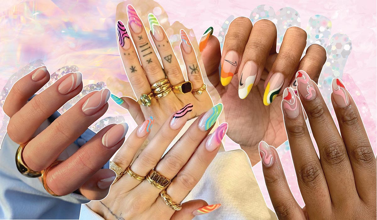 The Wavy Nail Trend Saweetie and Kendall Are Obsessed With