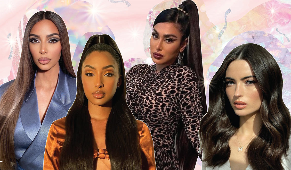How To Achieve The High Gloss Hair Trend Celebs Love