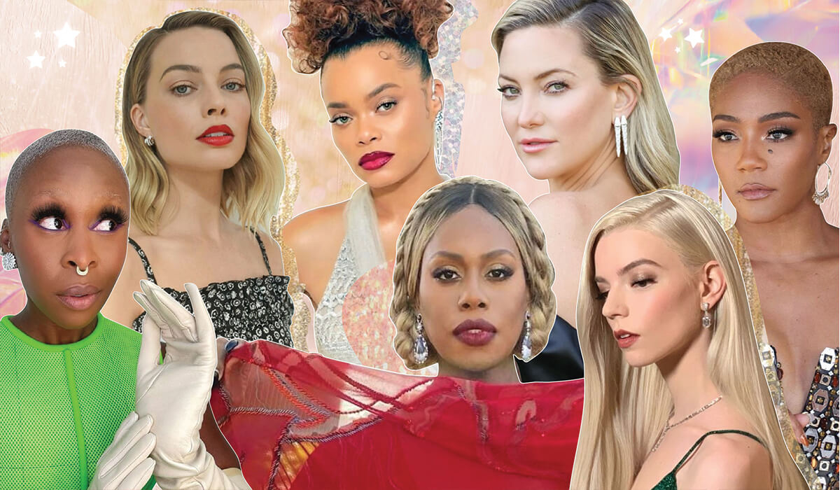 The Golden Globes Prove These Are 2021's HOTTEST Beauty Trends