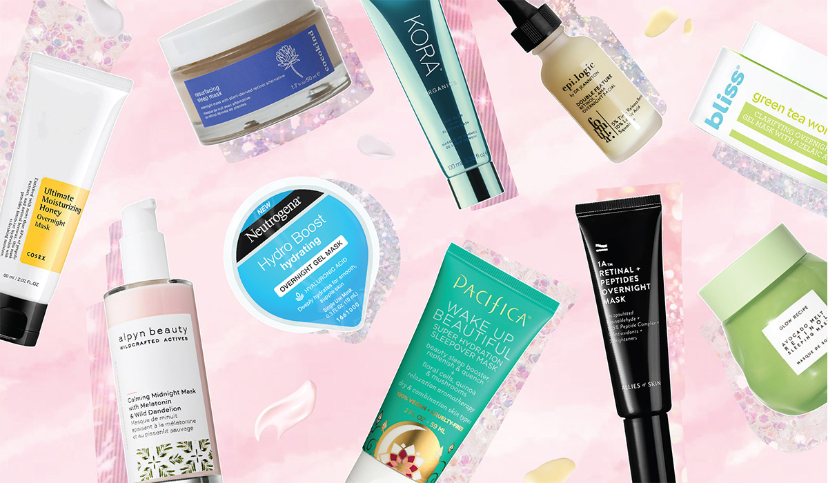 10 Overnight Masks That Work Magic While You Sleep!