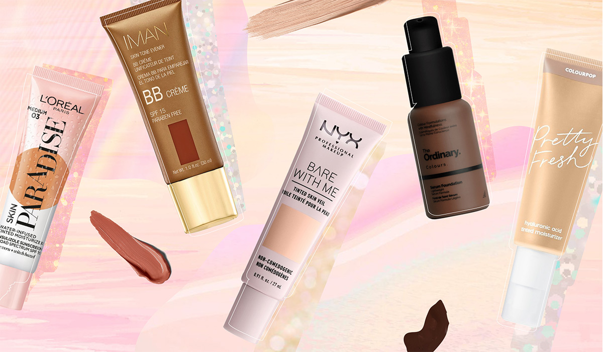 Our Go-To Drugstore Tinted Moisturizers For A Dewy Glow (From $7)