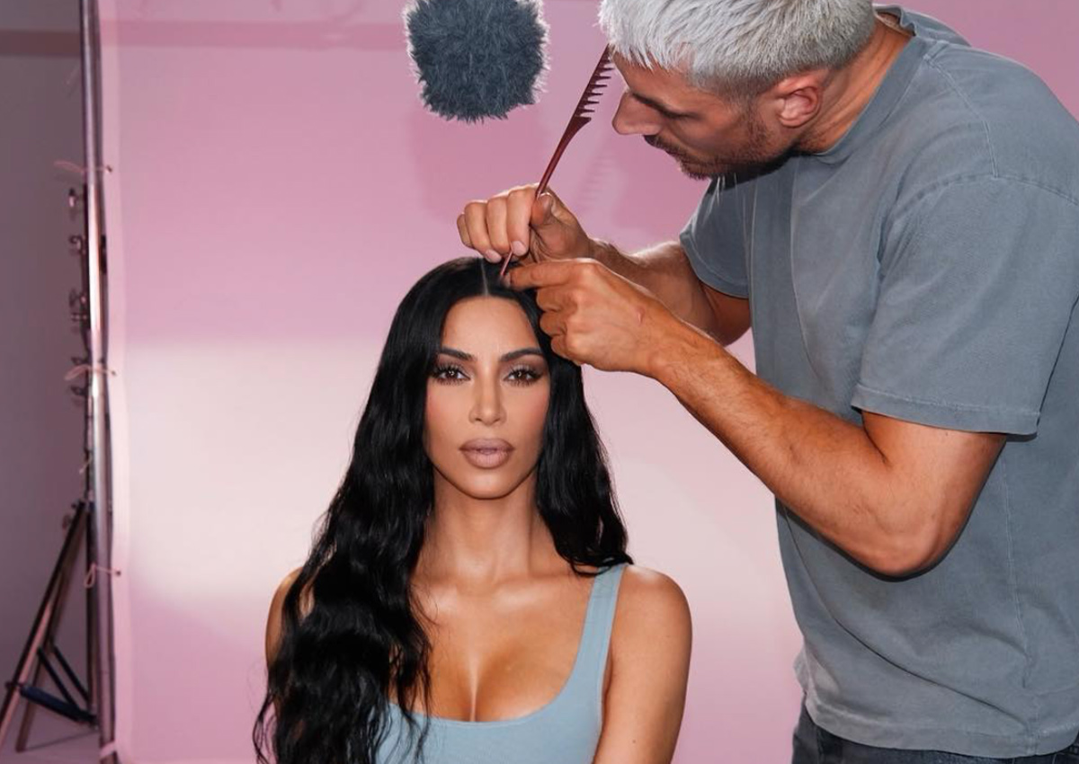 Kim K's Hairstylist Spills His Fave Trends For Zoom (That Are SO Easy)