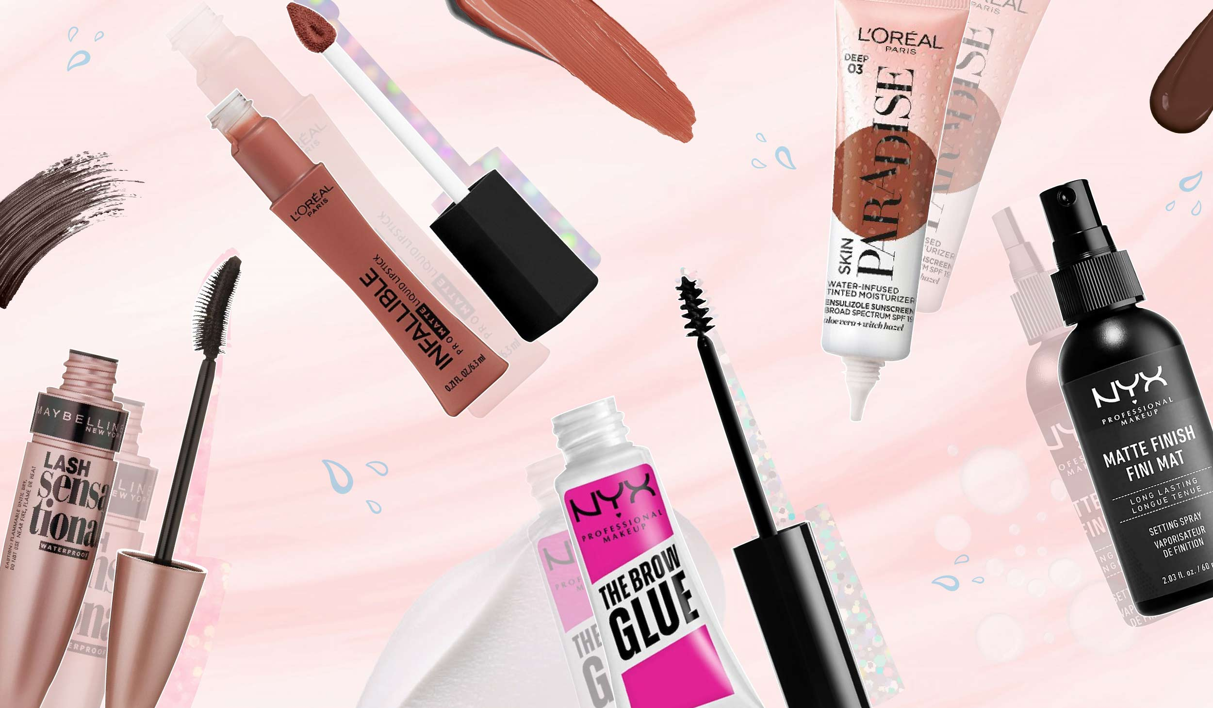 5 Sweat-Proof Drugstore Makeup Products You Need On Your Radar