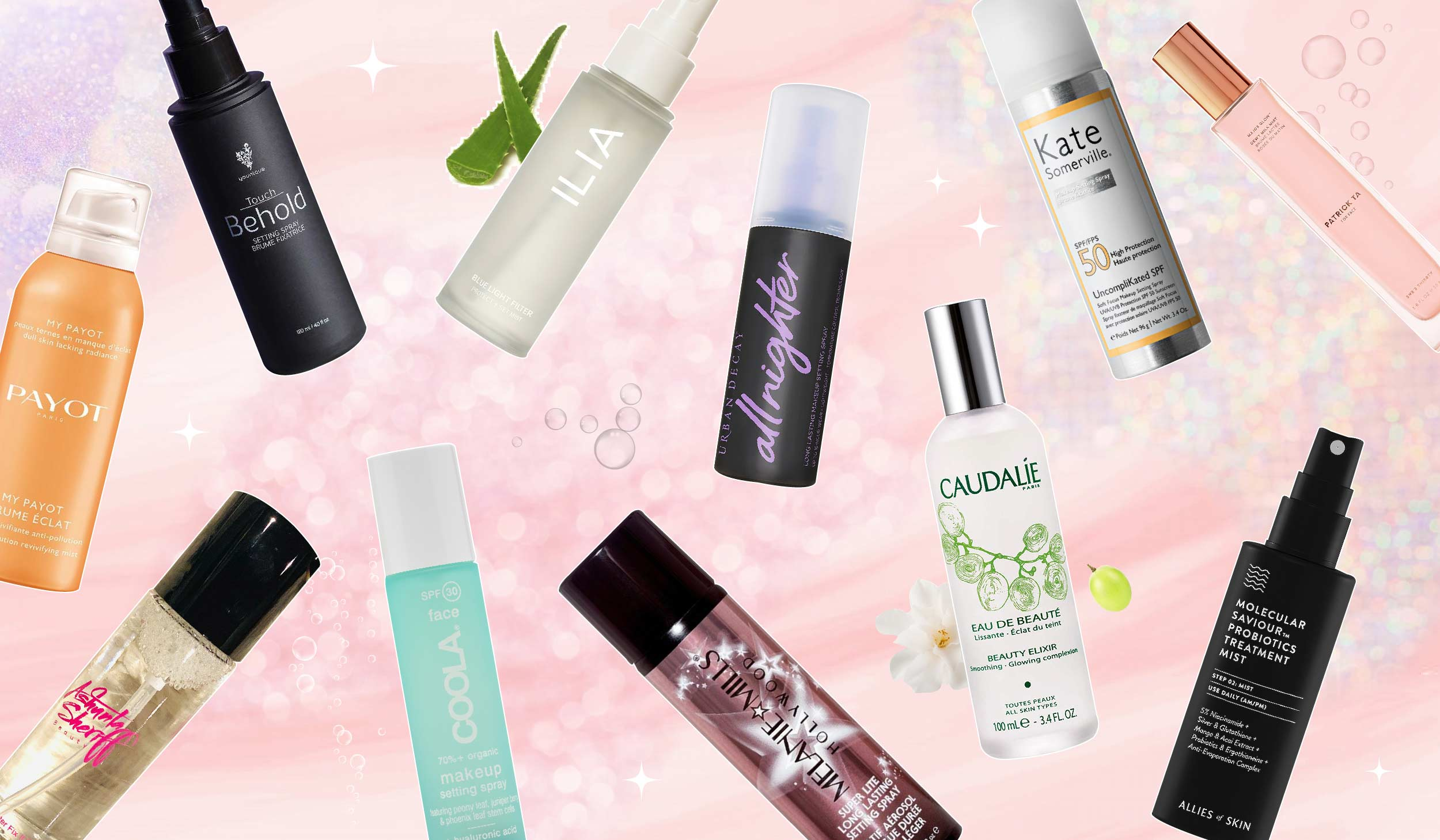 11 Setting Sprays To Keep Your Face Set No Matter How Hot It Gets