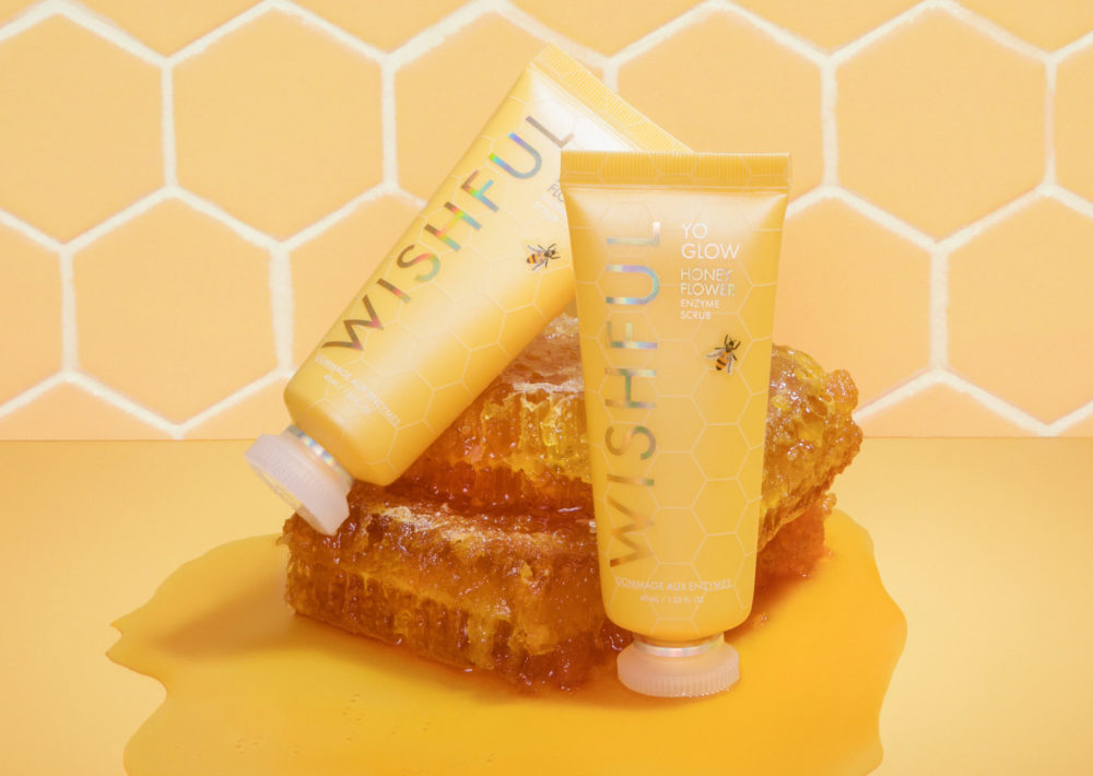 Brighten, Smooth & Glow With Our NEW Yo Glow Honey Flower