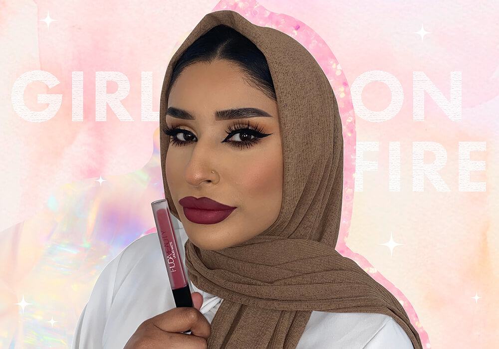 Meet The Face Behind Our New Girl On Fire Liquid Matte Lipstick Shade