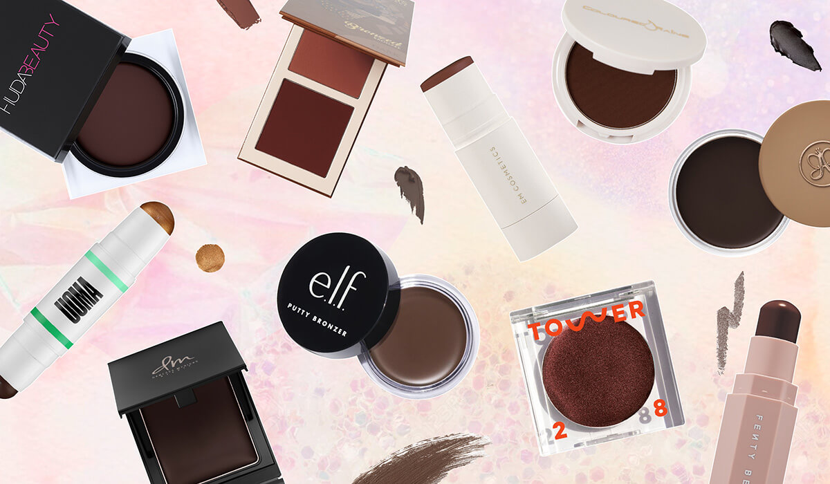 10 Bomb Bronzer & Contour Products For Rich Skin Tones