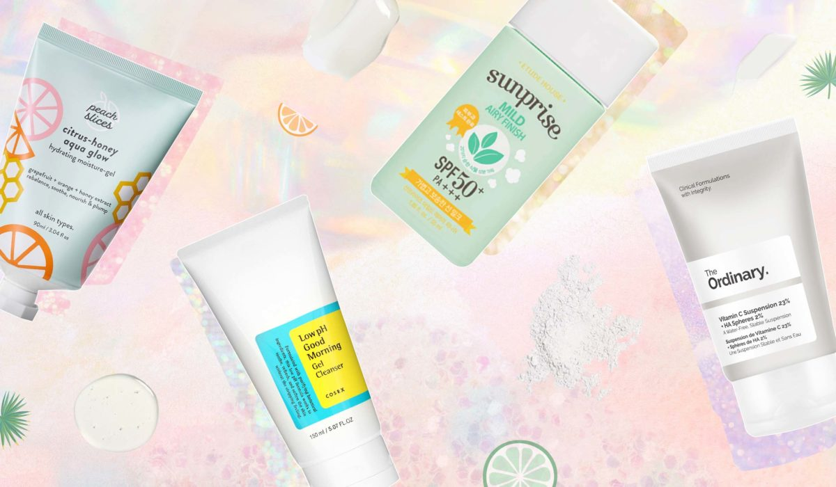 Our Go-To 4-Step Daytime Summer Skincare Routine Under $50