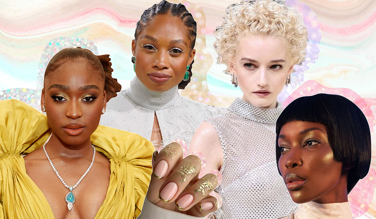 Metal Is The Slick Fall/ Winter Beauty Trend We're SO Here For