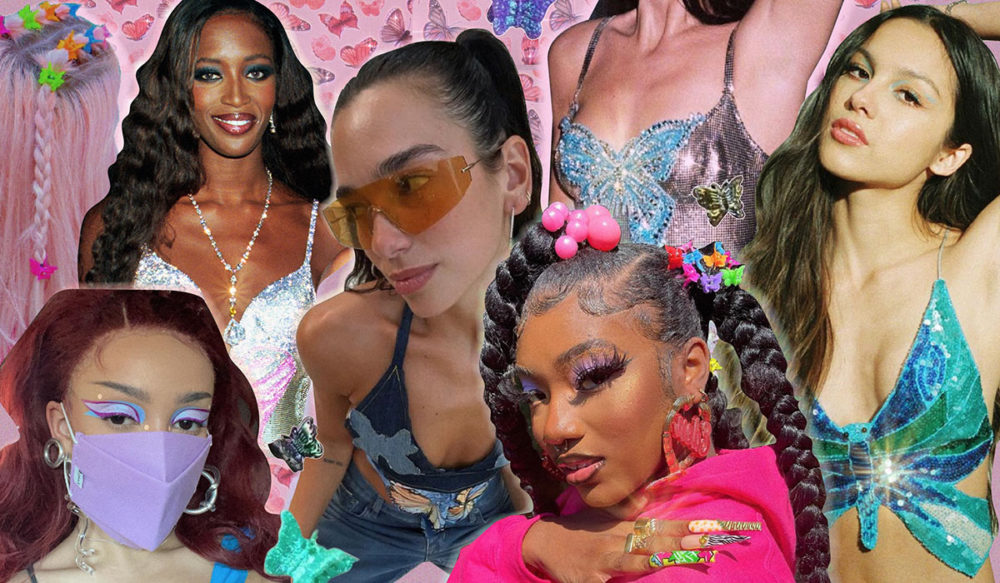 What's Up With The Y2K Butterfly Trend? (+ Beauty Looks To Try)