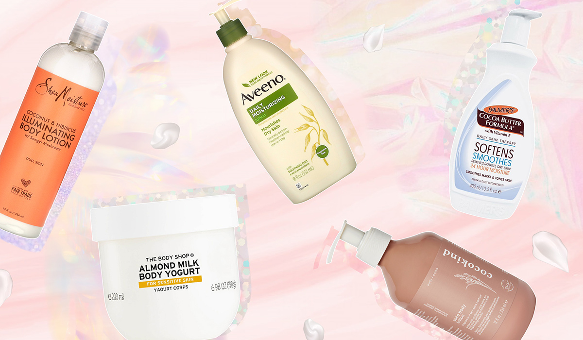 Our Fave Drugstore Body Lotions For Soft, Sexy Skin (From $11)